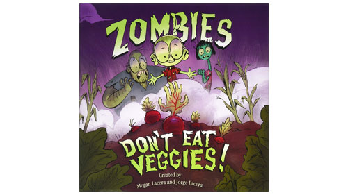 """While most students are out of school due to #COVID19, @HRC's Welcoming Schools will offer a book and a related activity adapted from our lesson plans. This week's book is """"Zombies Don't Eat Veggies!"""" by Megan and Jorge Lacera. hrc.org/blog/welcoming…"""