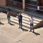 Image for the Tweet beginning: Yunquera guarda un sentido minuto
