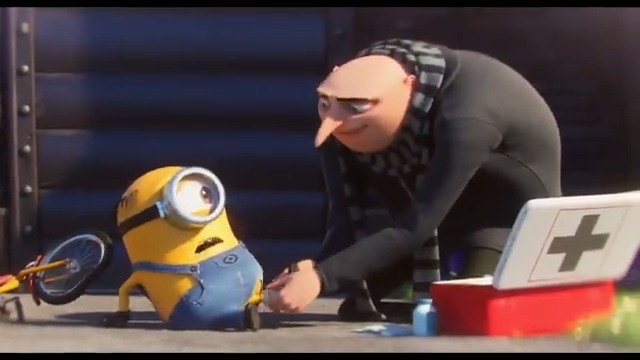 Image for the Tweet beginning: The @Minions & Gru are