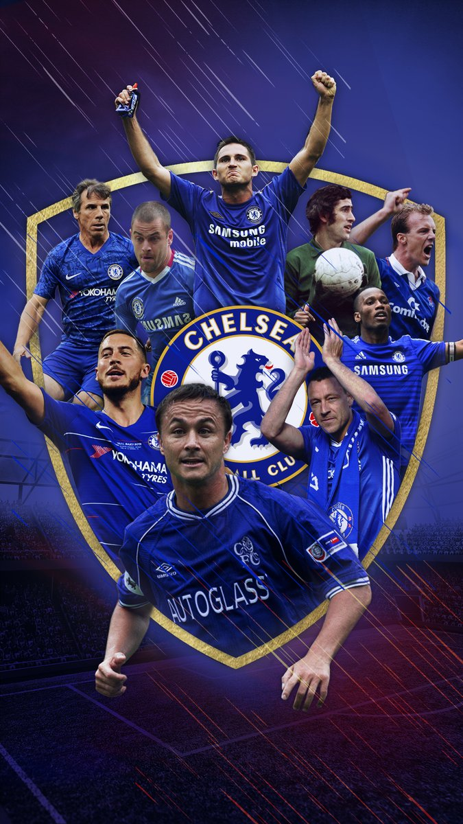 Iconic club. Iconic players.   We All Follow The Chelsea  #WallpaperWednesday<br>http://pic.twitter.com/eonPrWdu8I