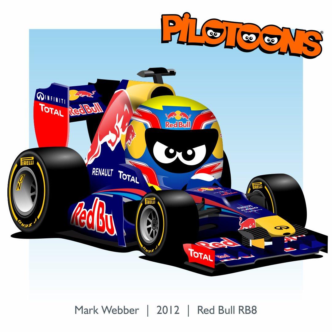 Pilotoons On Twitter Mark Webber Aussiegrit E Sua Redbullbr Em 2012