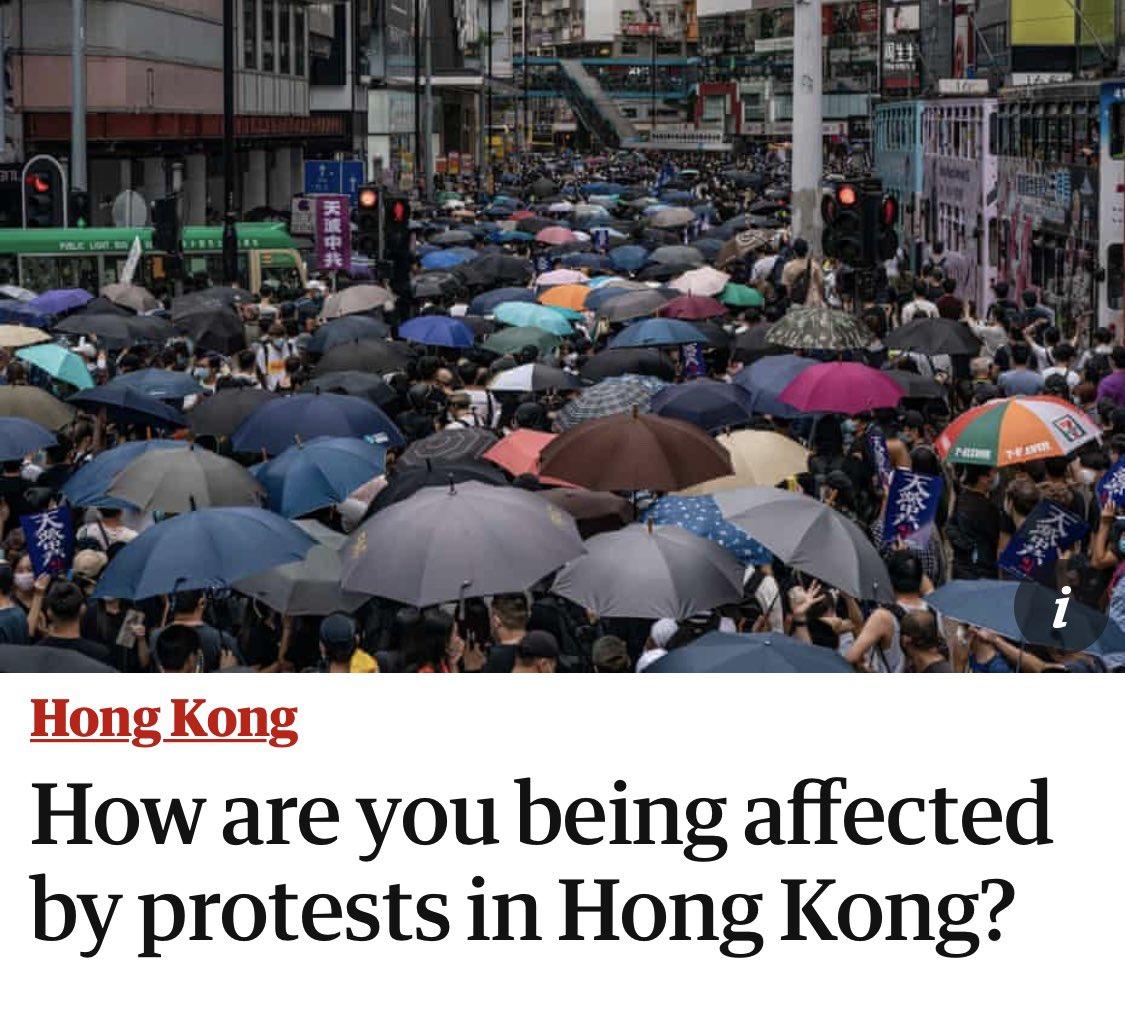 手足們 有時間都寫下 講下抗爭對你有咩影響😉  突發海外戰線:衞報邀請香港人發表意見 https://t.co/jjdmVnwo4i  傳送門👇🏻 https://t.co/CHrK4sBOzO https://t.co/uk7b34LU7Y