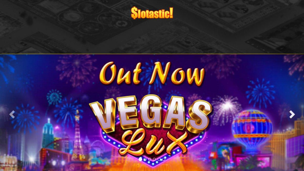 Slotastic casino bonuses and free spins. New game bonuses https://t.co/AA5PcRMMu3 #casino #match #slots #freespins #bonus #CouponCode #casinobonus #casinoUSA #CasinoAustralia #slotastic #VegasLux https://t.co/cGseMsmLu7