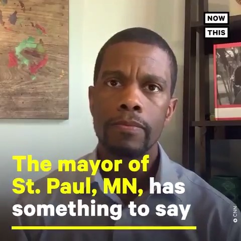 'We have a 10 minute video of an officer putting his full weight into the back of the neck of a man while he begs for help' — The mayor of St. Paul, MN, spoke out about police brutality and victim blaming surrounding the death of George Floyd https://t.co/sWzbuHxZw1