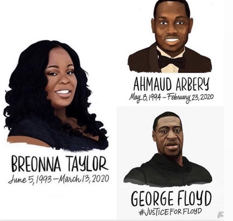 We need JUSTICE. Say their names. #BlackLivesMatter