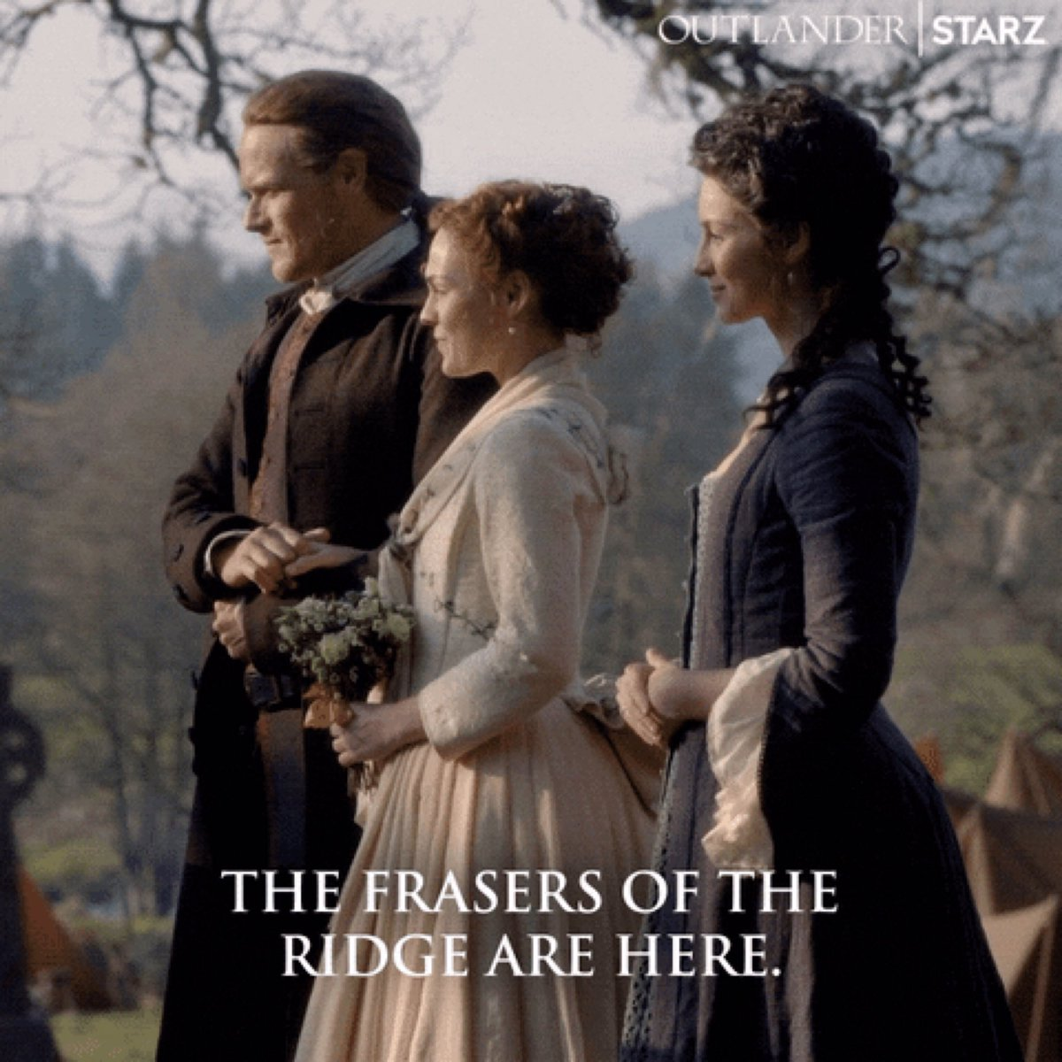 @w_network @MakkOlga OHHH... how many can I post? ... practically the whole #OutlanderS5   I would start with the Fraser force in the new settlement and the return of the Laird and his Lady, and the return to origins and kilt