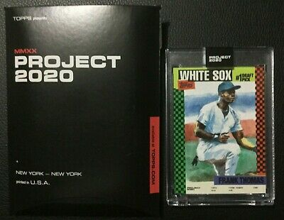 Topps Project 2020 Frank Thomas card #44 Jacob Rochester SP only 1480 In… http://dlvr.it/RXSgDb #SportsCards #TradingCards #AffiliateLinkpic.twitter.com/jrc6lJZtLz