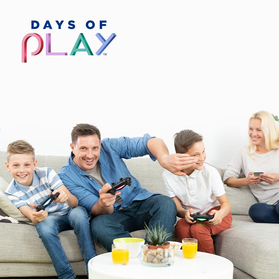 ⭕ Échale un ojo a las OFERTAS de #DaysofPlay porque el juego que te gusta te está esperando junto a otros descuentos en:   🔲 PlayStation VR  🔺 PS Plus  ❌ PSNow  https://t.co/D72Mln0AA5 https://t.co/qTicOCGfWY