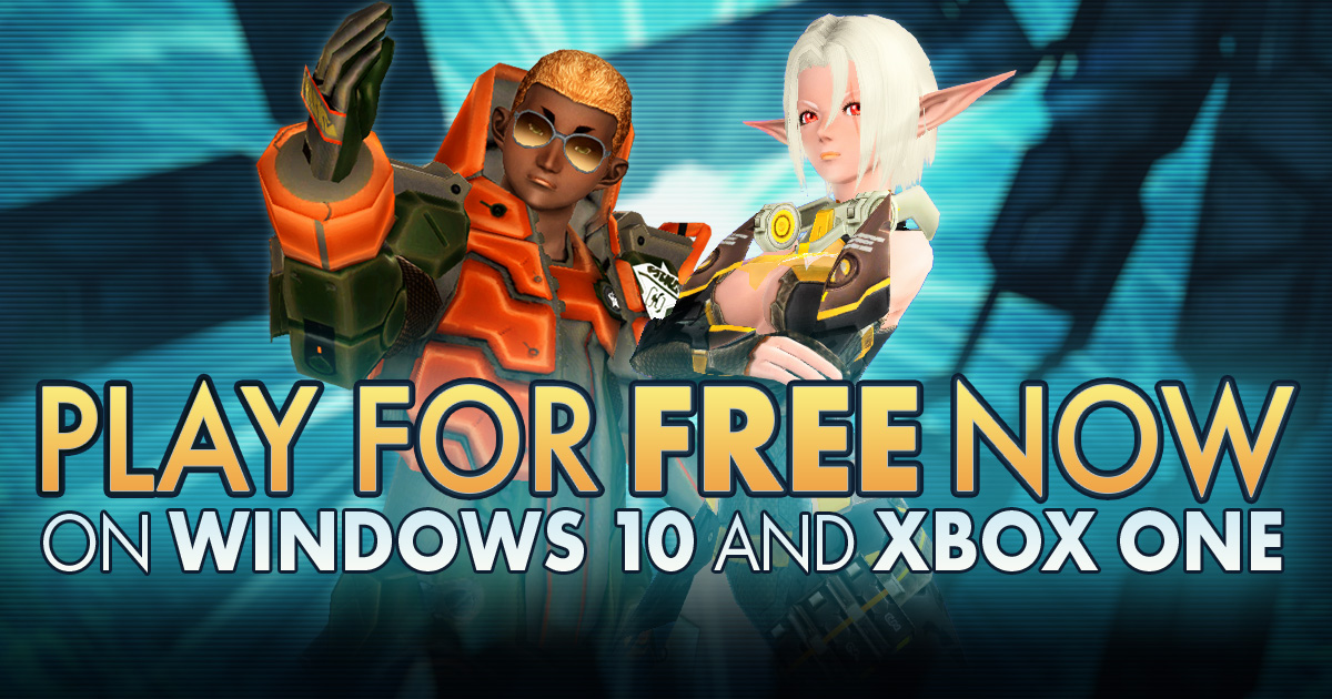Phantasy Star Online 2 is now available in North America on Windows 10 and @Xbox One! #JoinARKS and save the universe from the Falspawn threat together! Download and play for FREE now!