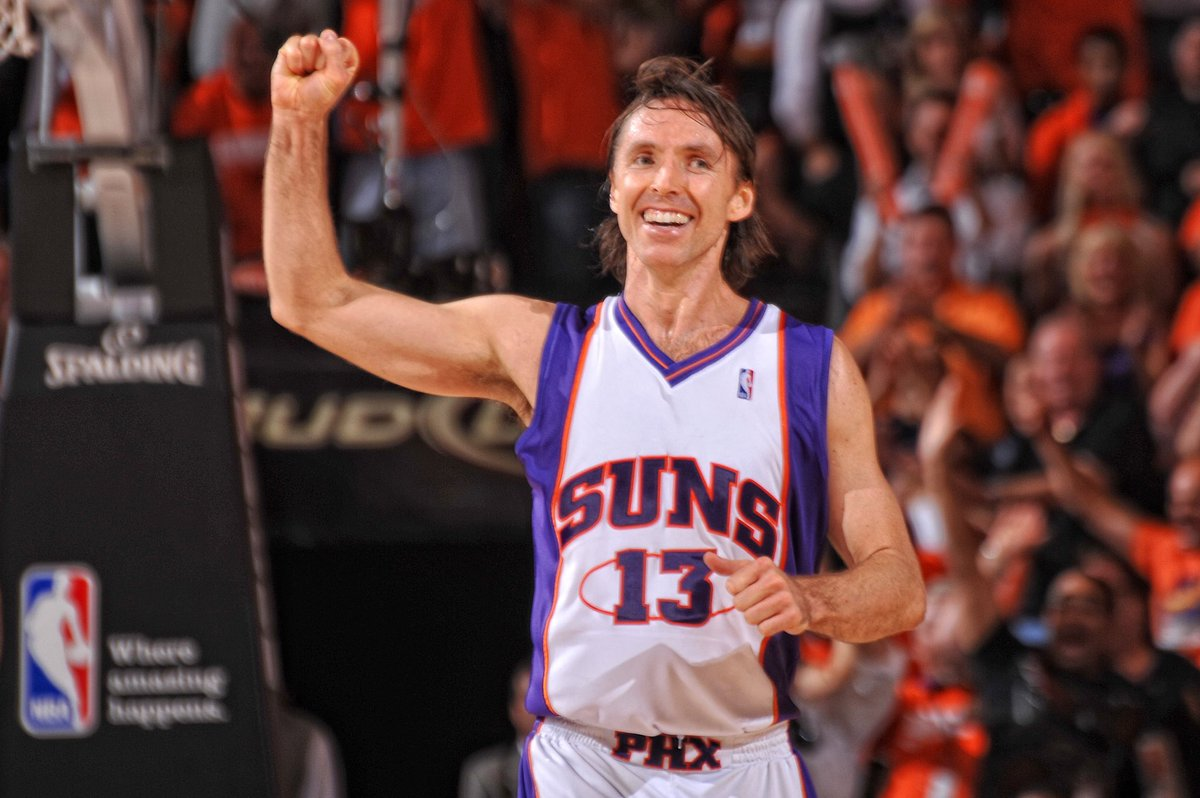Congratulations to Steve Nash 🇨🇦 on being inducted in to Canada's Sports Hall of Fame! 👏 https://t.co/3vFbxI9FGT