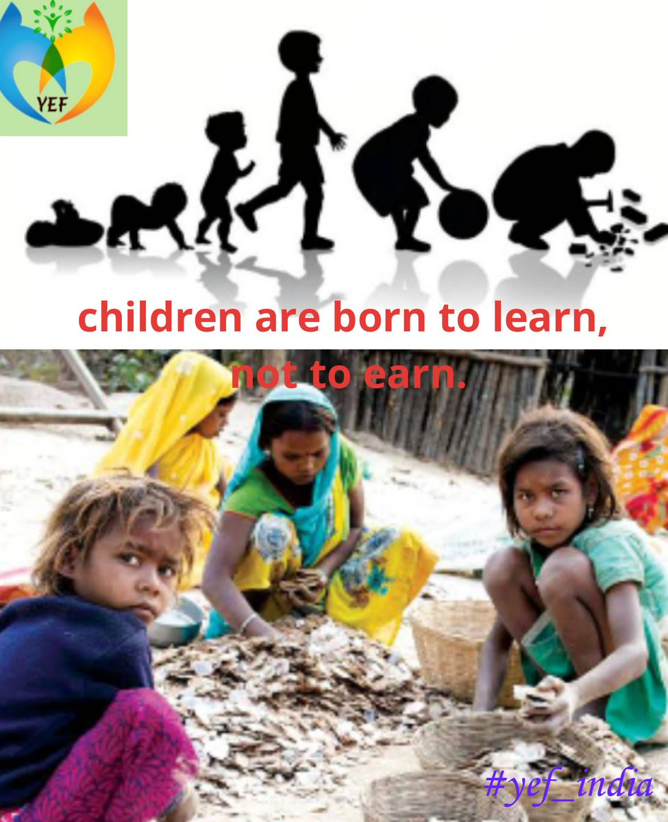 PLEASE SAVE CHILD LABOUR'S.. YOUTH EMPOWERMENT FOUNDATION #YEF_INDIA #YOUTHEMPOWERMENTFOUNDATION #NGO pic.twitter.com/eo0qy42uTn