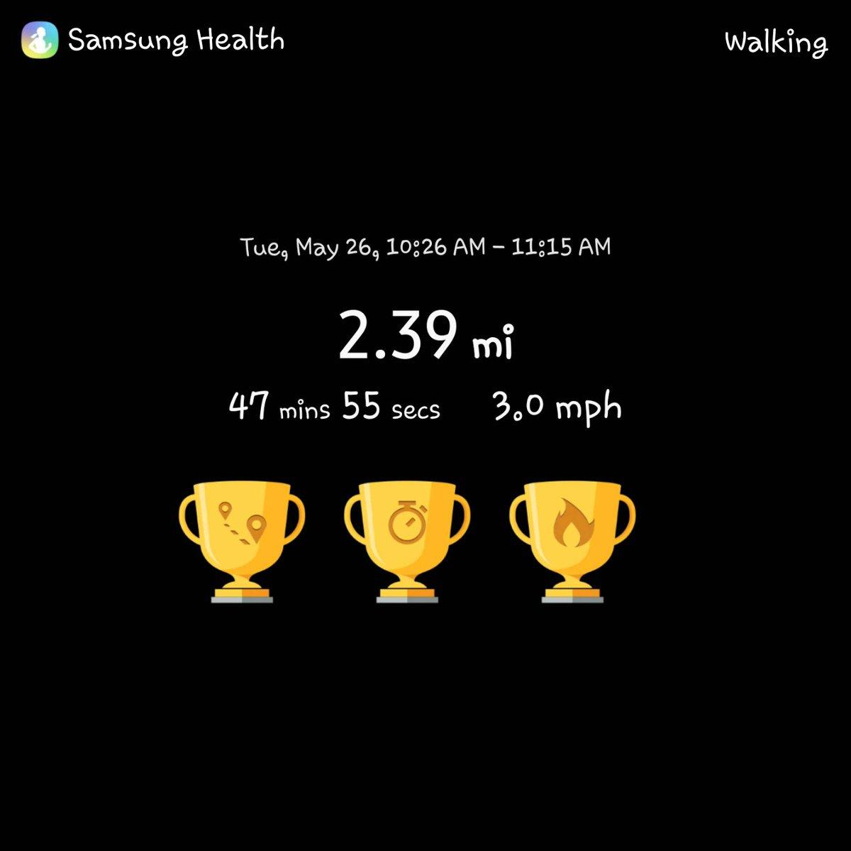 Yeaterdays walk...  #healthylifestyle pic.twitter.com/8auA6yQ8ob