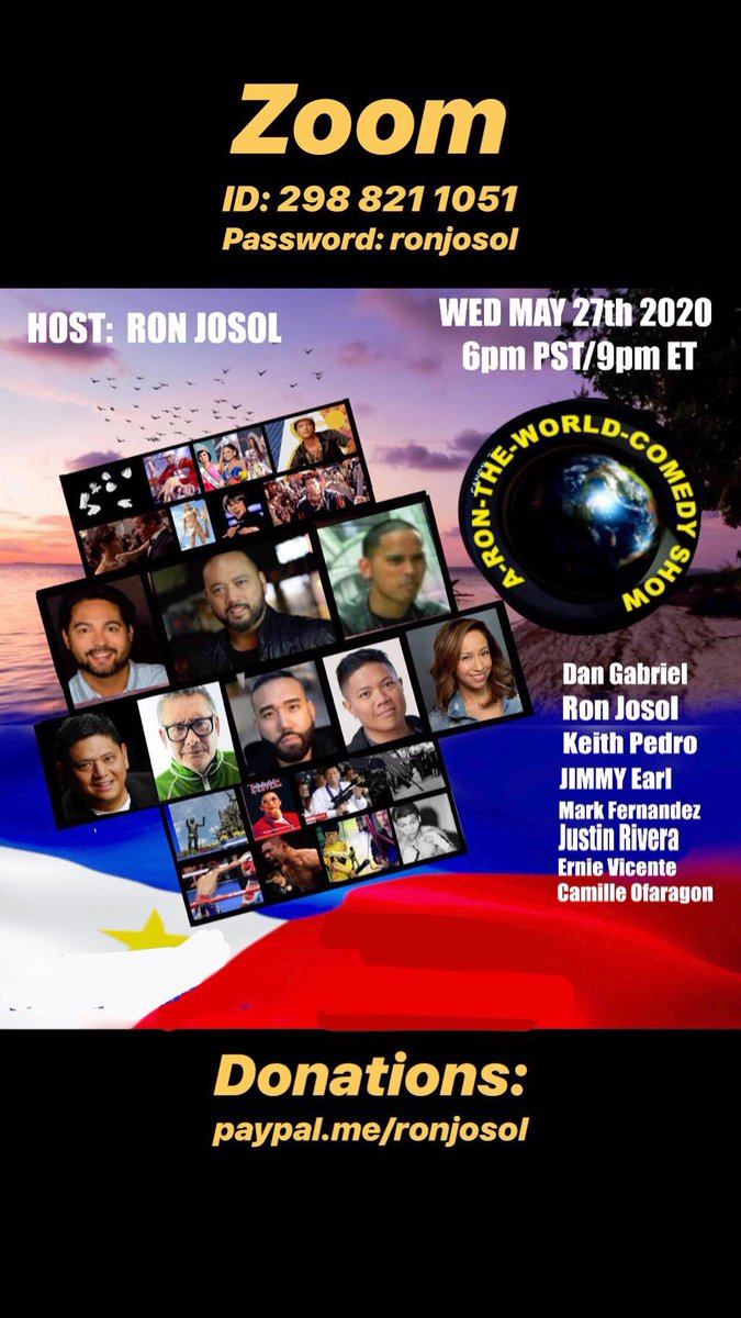Tonight, you guys!  Me, Ron, Jimmy, Dan, Justin, Ernie, Keith, Camille and your creepy uncle will be entertaining in this great Zoom show!  6p PT, 9p ET!!!    Come laugh with us!  #MALA #FernsBestLife https://t.co/lORddqPxna