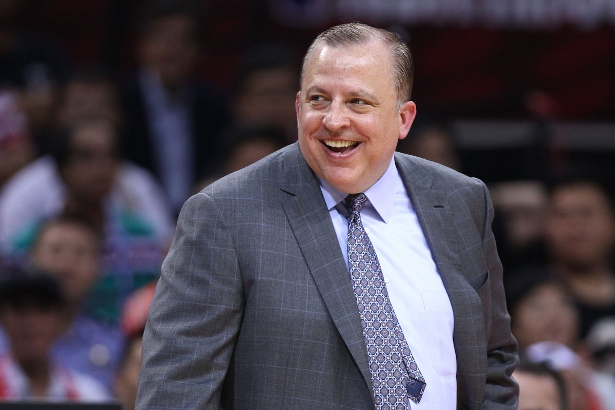 Knicks will start their head coaching search soon with Tom Thibodeau at the top of their list, per @ShamsCharania, @MikeVorkunov