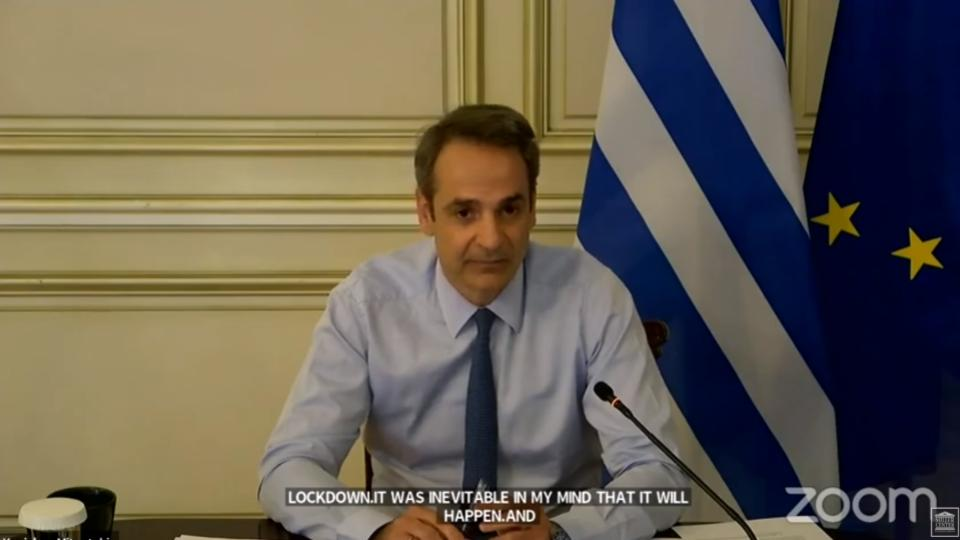 PM Mitsotakis says United States set to be left off list of countries allowed to resume direct flights to Greece on June15/July 1  but could be added later.   #Greece #Covid_19  HT @BrookingsGlobal @Miller_Centerpic.twitter.com/grYlEE2rdg