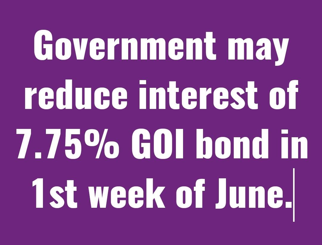 #RBI #Bonds 28th May 2020 last day to #Invest pic.twitter.com/v3VKGFOx0J