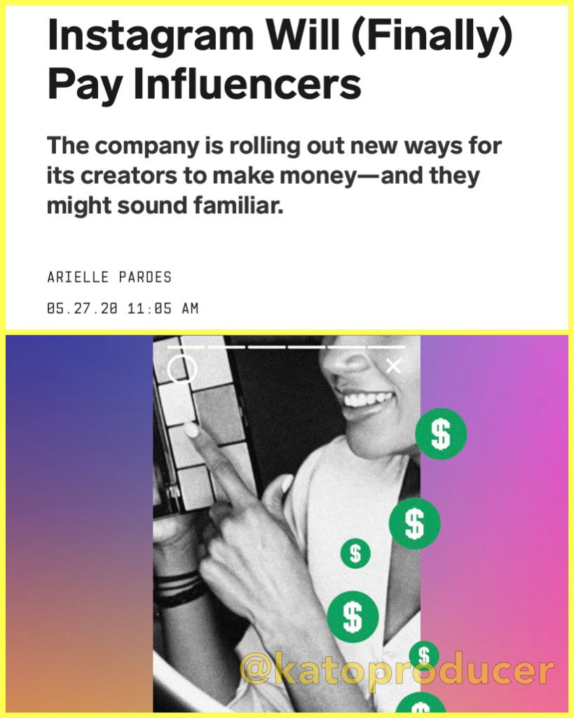 Happy to finally see this happening for creators. Via @WIRED https://t.co/wPaSo2Dcih
