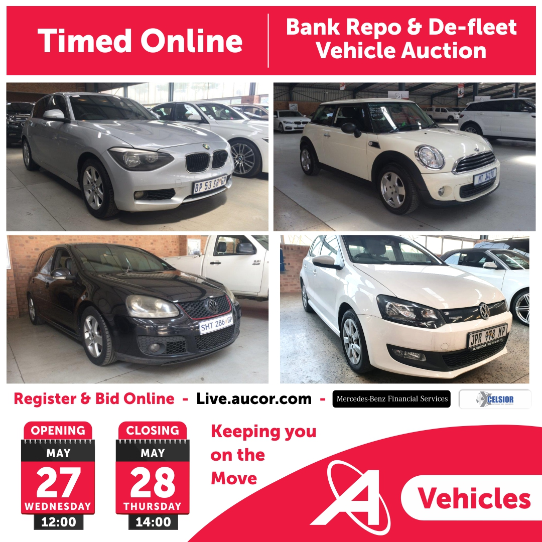 Aucor On Twitter Bidding Is Officially Underway For Our Timed Online Bank Repo Vehicle Auction For Listings Visit Https T Co K0uds0vuty Or Call Martin Sibanda On 083 794 2378 Vehicle Finance Is Available For