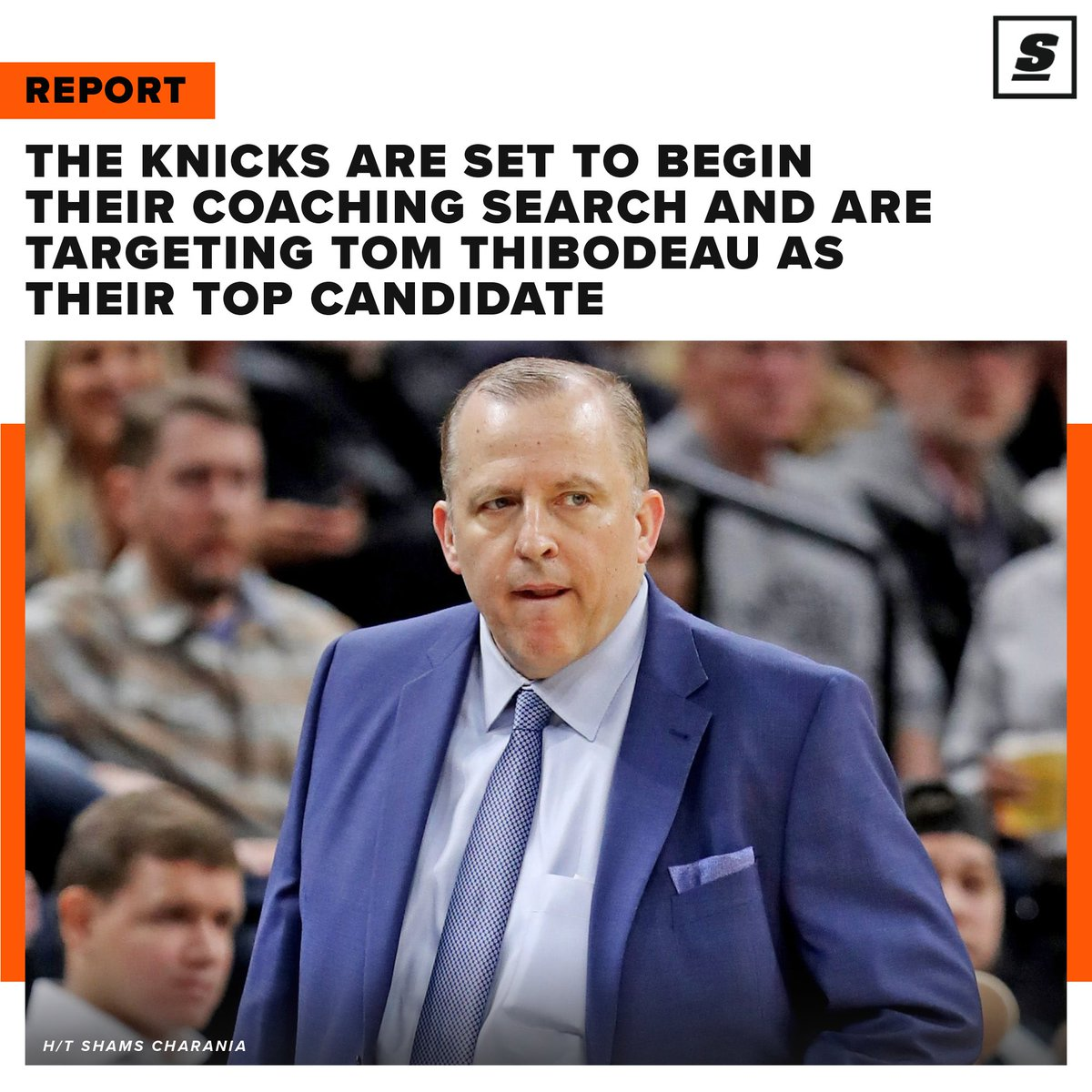 The Knicks reportedly want Tom Thibodeau to be their next head coach. Would Thibs be a good fit in New York? 🤔