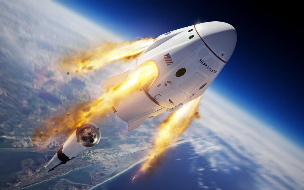 How to watch the SpaceX Crew Dragon manned spacecraft launch at 4:33 p.m. EDT Wednesday cbsn.ws/2TKNerN