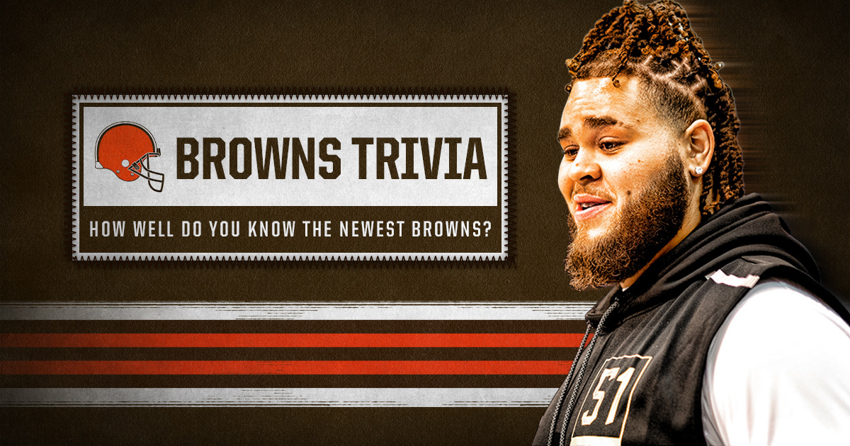 How well do YOU know our newest Browns? 🤔 Test your knowledge in our in-app quiz » browns.rover.io/5LmjTY Post your results below! ⬇️