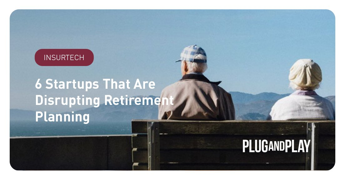 In the rise of the gig economy, the need to be proactive in #financial planning only increases. In this article we share 6 startups that rethink #retirement and create a better future 👉 https://t.co/K4lm4oAtcs   #PnPInsurtech #PensionPlan https://t.co/9FR8lsOrbM