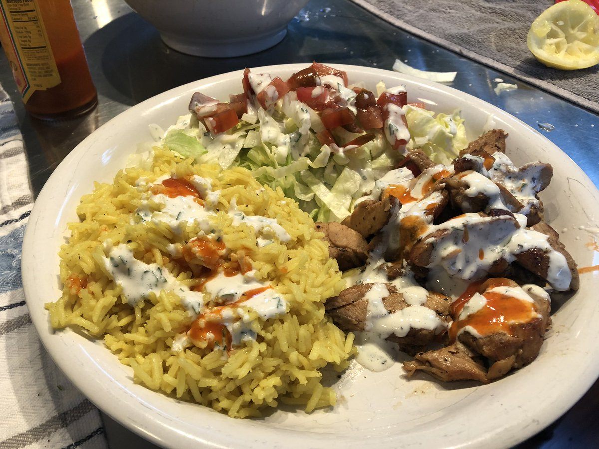 @knapplc finally made the halal cart chicken last night. I feel dumb for waiting so long.