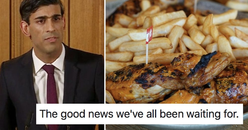 Rishi Sunak joked about Nando's re-opening and these 9 people had a bone to pick thepoke.co.uk/2020/05/27/ris…