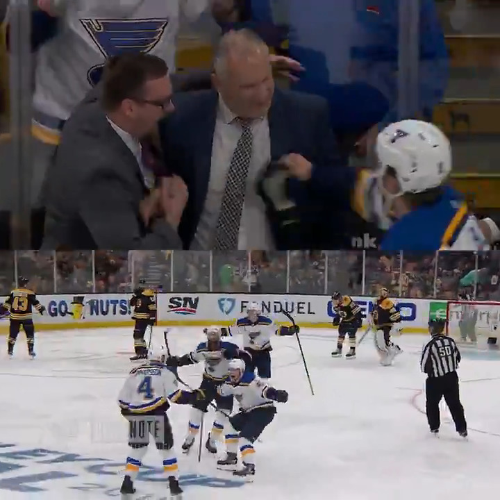 All I need is one more chance! - @carl_gun, one year ago today. #stlblues