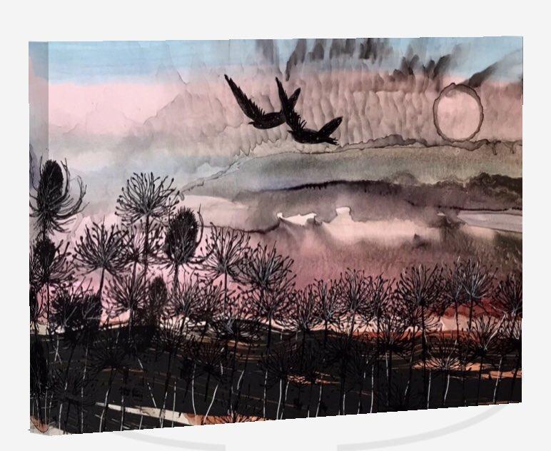 Wild Country series. On Box Canvas.  #art #ArtistOnTwitter #contemporaryart #contemporarypainting #paintingpic.twitter.com/RUmYONpC7Q
