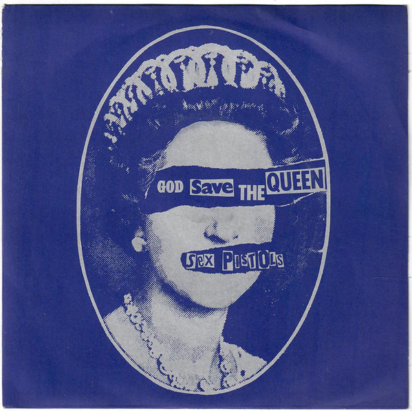 """on this day in 1977 The Sex Pistols released the single  """"God Save The Queen"""" #SexPistols #Punk pic.twitter.com/gcuuYTShsO"""