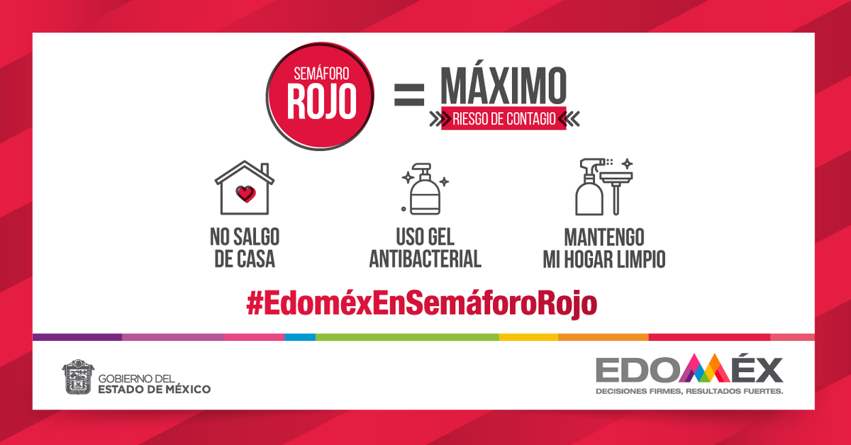 #EdomexEnSemaforoRojo Photo