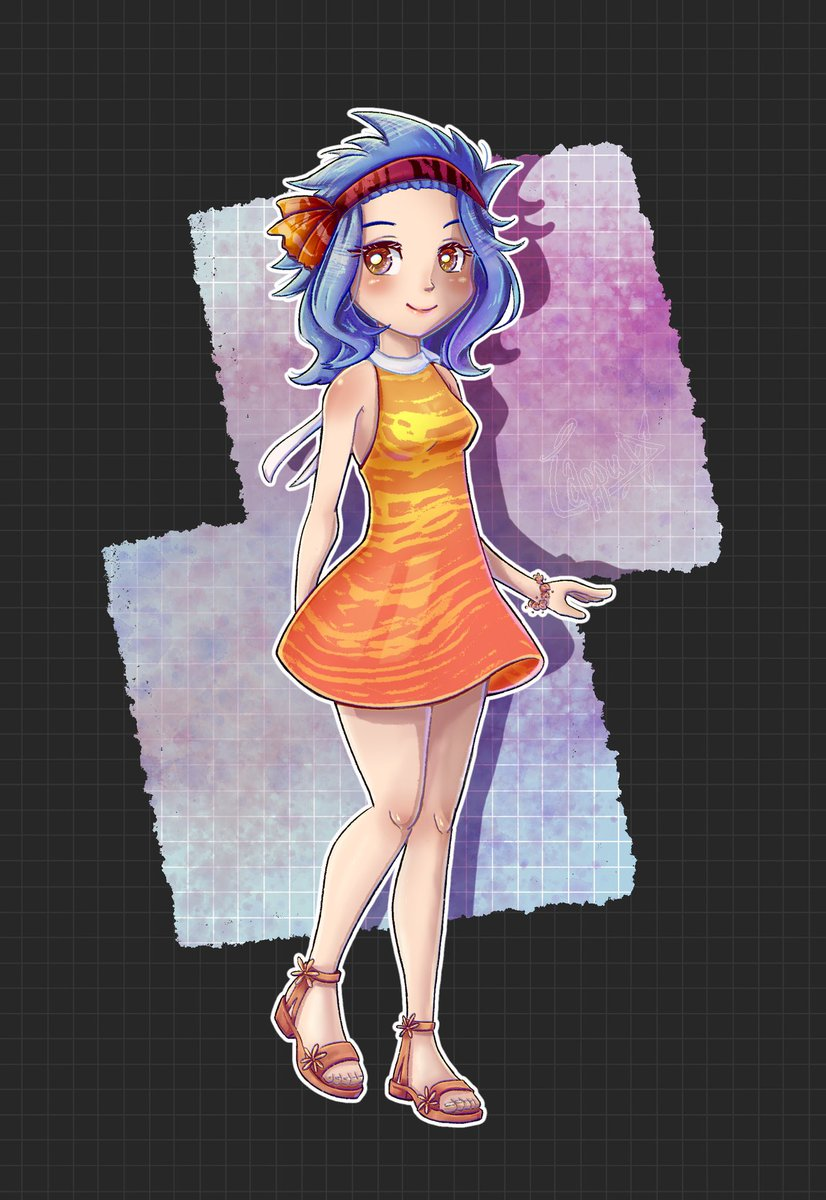 Here is the lovely Levy Mcgarden from #fairytail  Please do not repost pic.twitter.com/vA6kdurAku