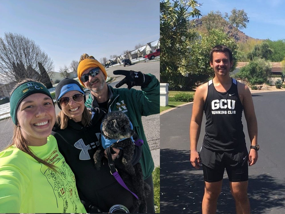 Their coach always stresses that 'running is a way of life, not just a sport.' See how @1Htweelz and @gcurunningclub are still competing while 'sheltering in place': https://t.co/OJlFXiD9mC #LivetheLopeLife #LopesRising https://t.co/lCF1BYujK1
