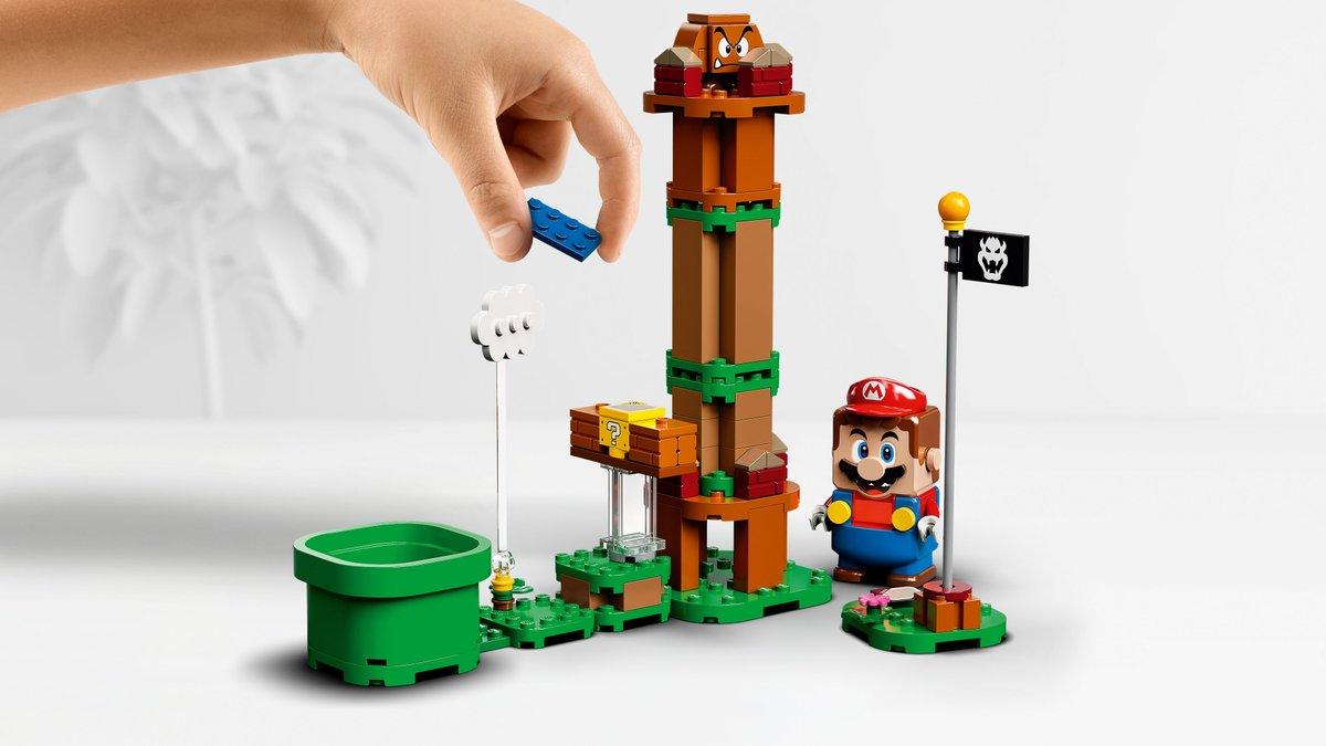 さぁ クリボー、ノコノコ、そしてクッパと対決だ!拡張セットを繋げて、毎回新しいコースを作ろう!スターターセット 予約受付中!#レゴ #レゴスーパーマリオ #任天堂#LEGO #LEGOSuperMario #Nintendo