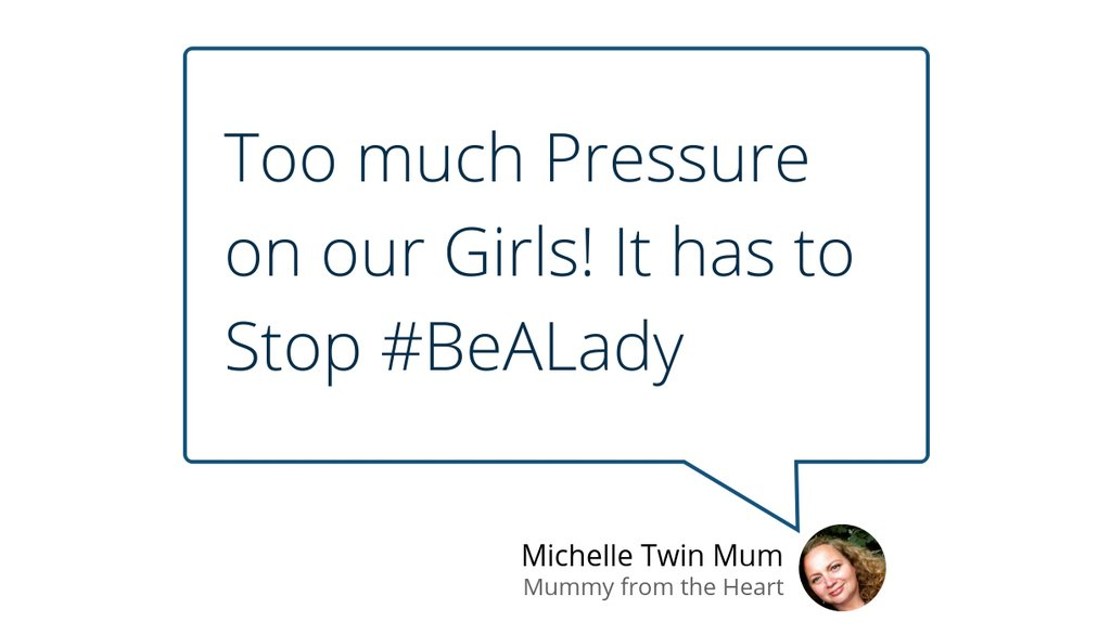 Too much Pressure on our Girls!  It has to Stop    #BeALady ▸ https://bit.ly/32y5CYd   #parenting #Bealadytheysaid #girlsgirlsgirls #Buildupourgirls #GirlsCountpic.twitter.com/6cD02gAUhp