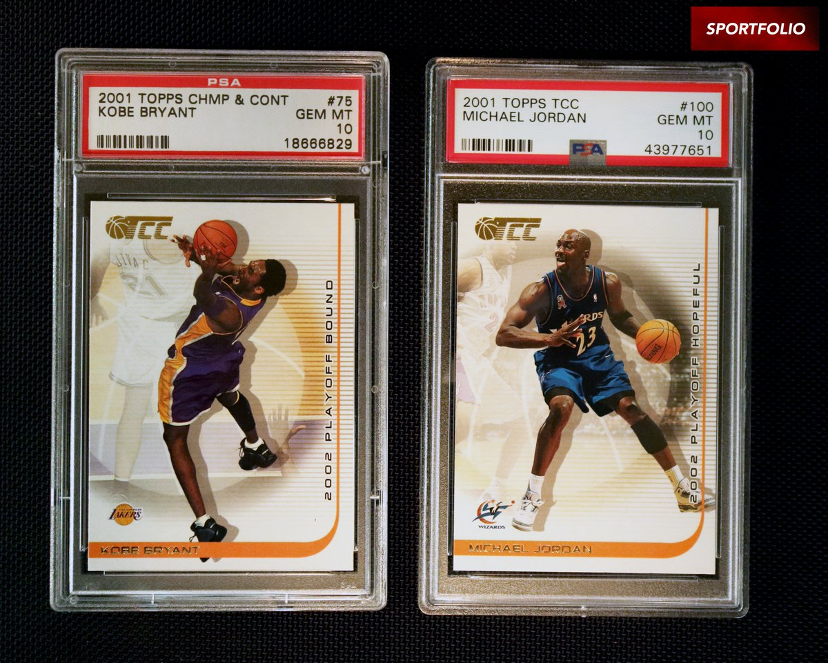 GOAT GIVEAWAY   WIN a 2001 TCC Kobe Bryant PSA 10 & Michael Jordan PSA 10  RULES:  1) Retweet & Tag 2 Friends  2) Subscribe to @MSCGAtv on YouTube:  https:// youtube.com/channel/UClP9T 8RgrIfiSAm505AP2GA   …   3) Like & Comment on ANY video  Celebrate the launch of our YOUTUBE and WIN BIG! Contest ends 6/24 <br>http://pic.twitter.com/5rxqsBE3Es