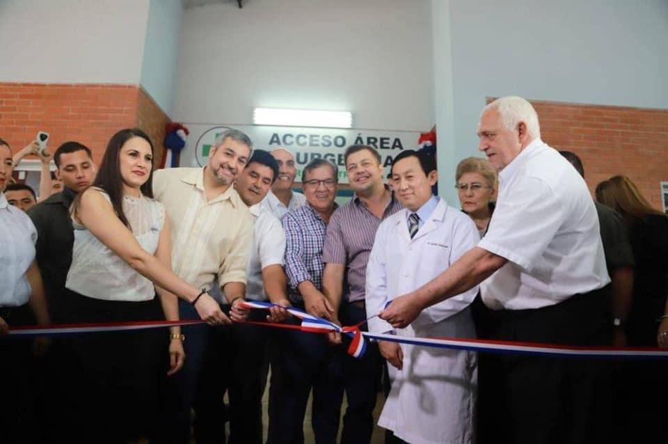 PROGRAMA OFICIAL EL PRESIDENTE DE LA REPÚBLICA, @MaritoAbdo  INAUGURARÁ IMPORTANTES OBRAS EN EL DEPARTAMENTO DE #ITAPÚA 08:00 hs. Inauguración de Obras en el Hospital Regional de Encarnación, construidas por el Gobierno Nacional, a través de la @ebypy pic.twitter.com/rgt97cKlxw