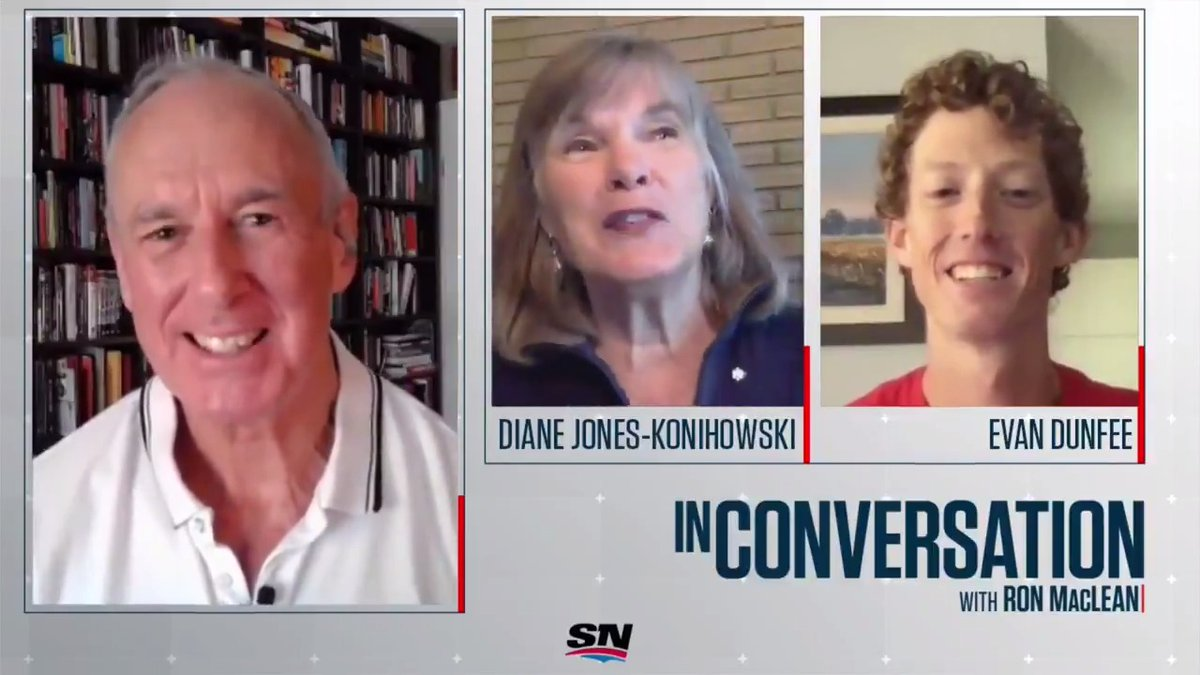 I thought, heres a professional athlete that maybe gets the uniqueness of this. 2020/21 @sportshall inductee Diane Jones Konihowski recalls a special moment shared with fellow inductee @SteveNash at the 2000 Olympics. Full #InConversation episode: youtu.be/xO27qOnAWYg