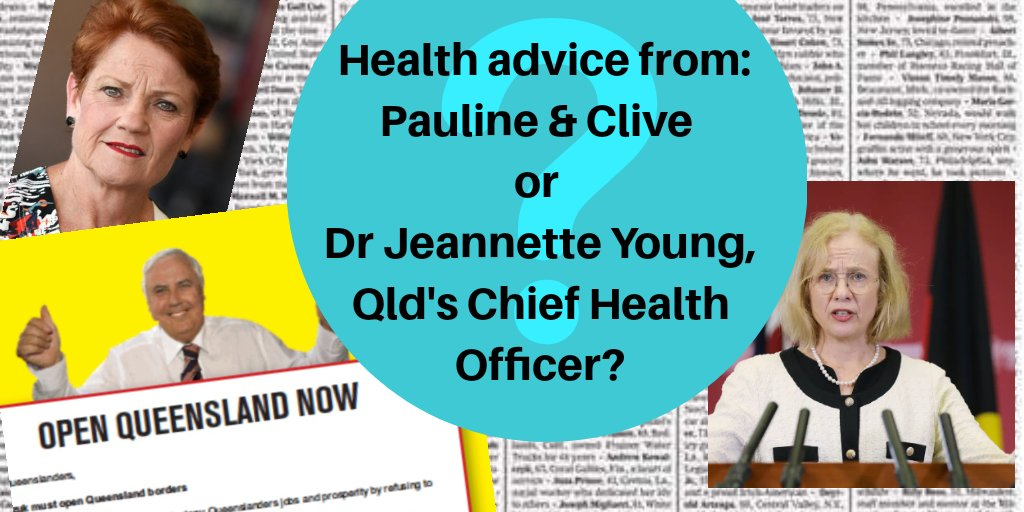 Health Advice... Suggest you follow expert advice.  #auspol #covid19australia<br>http://pic.twitter.com/9KwcQVjsGy