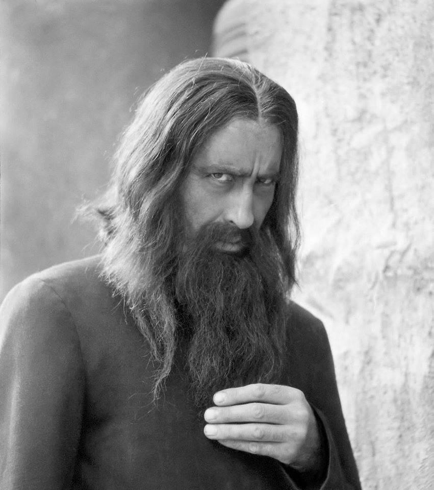 """Happy Birthday, Christopher Lee!  #NowWatching RASPUTIN: THE MAD MONK (1966)  When I told my boyfriend that Christopher Lee had actually met one of Rasputin's killers, he just shook his head and said """"of course he did."""" <br>http://pic.twitter.com/82KG0te6I1"""