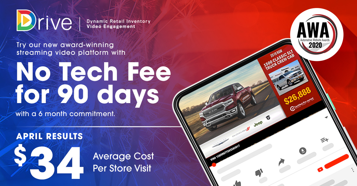 Get back on track. Try our award-winning streaming video platform, Drive™, with NO tech fee for 90 days with 6 month commitment.  Visit: https://forcemktg.com/drive-offer/   #forcemarketing #inthistogether #covid19  #automatedvideo #streamingvideo #CTV #OTT   #programmaticvideopic.twitter.com/OhtN8iUz33