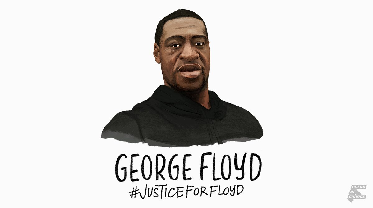 #GeorgeFloyd screamed #ICantBreathe before dying at the hands of #MinneapolisPD. Being Black in America shouldnt be a death sentence. The cops involved were fired, but that isnt enough! Text Floyd to 55156 to demand DA @HennepinAtty charge them with murder. #JusticeForFloyd