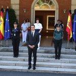 Image for the Tweet beginning: Spanien indleder historisk lang sørgeperiode