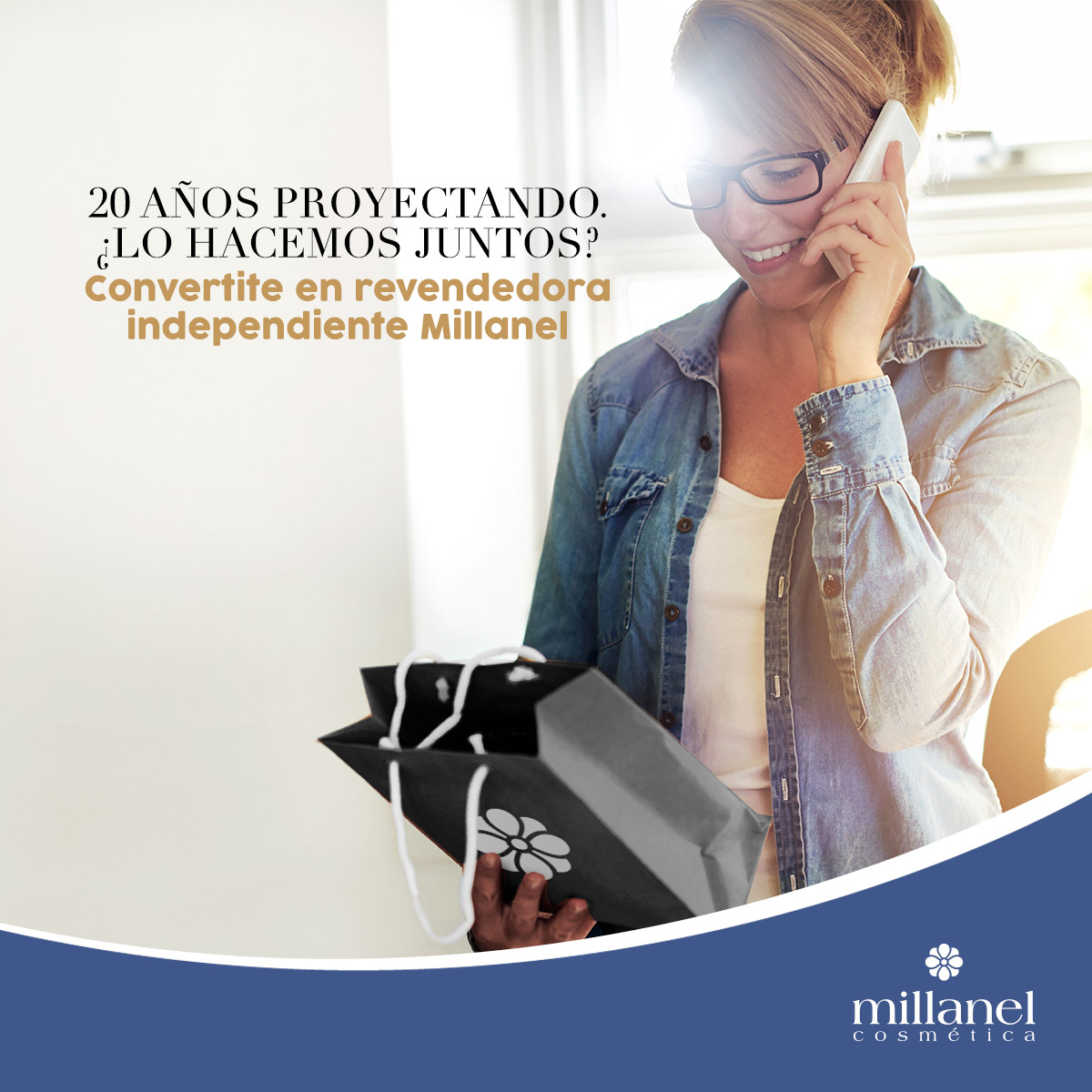 En la campaña Aniversario     ¡Convertite en revendedora independiente Millanel! Completá el formulario en la web  https://www.millanel.com/convertite-en-una-revendedora-millanel… #Millanel #cosmética #revendedoraindependienteMillanelpic.twitter.com/B7bYn7y1si