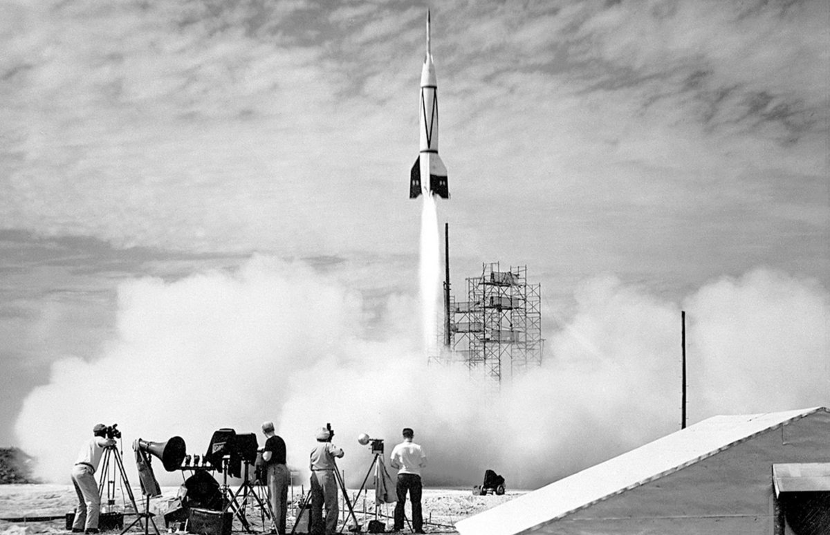 Cape Canaveral at dawn of space exploration, July 1950: https://t.co/kL0TREcHhF