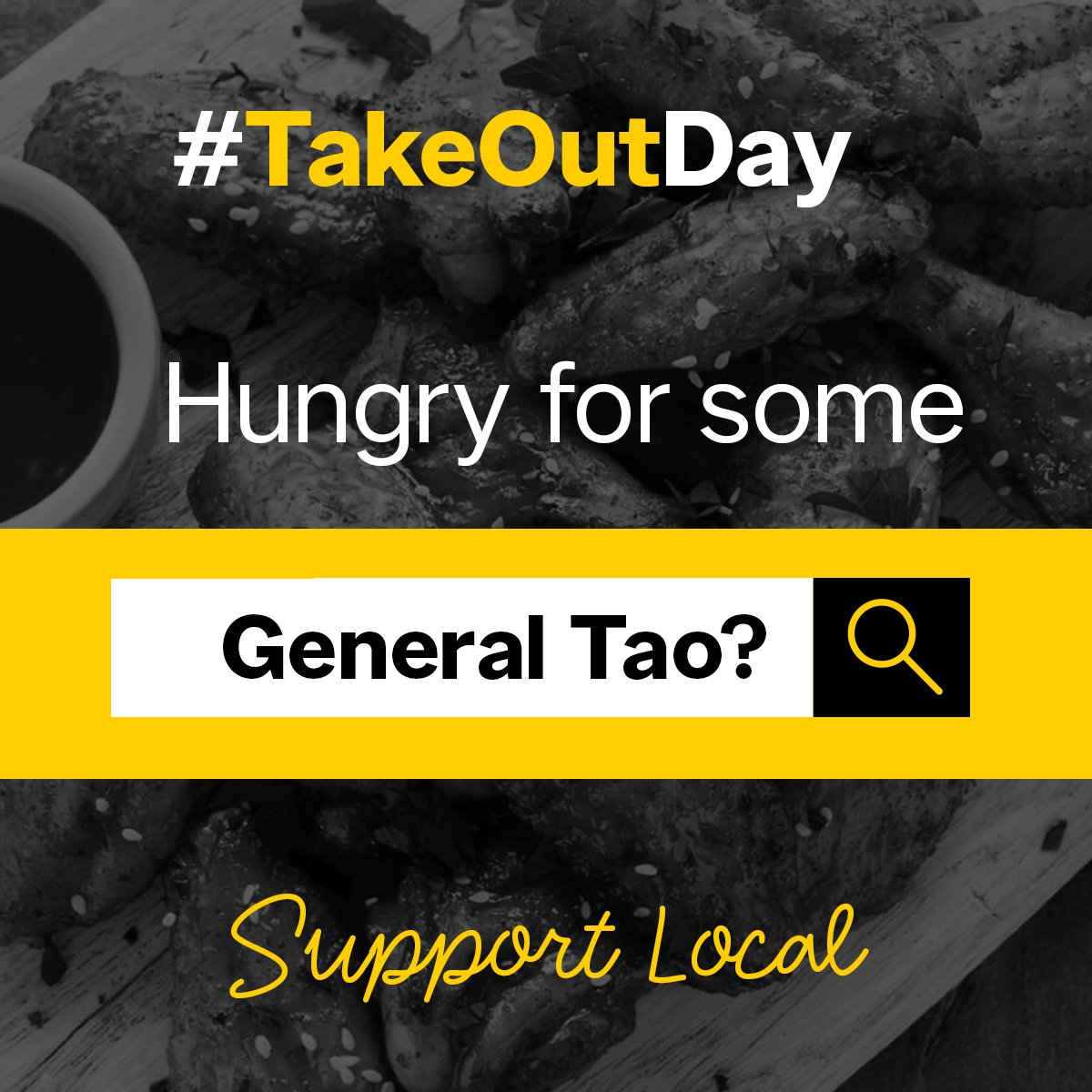 Have a craving for General Tao Chicken? Why not support your local Asian restaurant and order in for #TakeOutDay  ----> https://t.co/dBLHVbOOlX https://t.co/vLEgmaXN0O