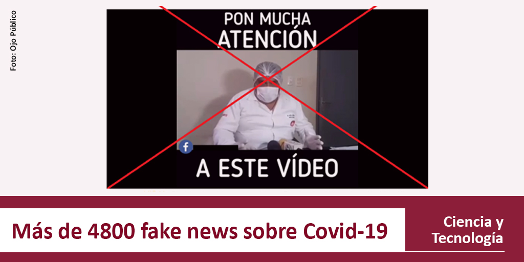 ¿Peruanos creativos?  El equipo de #CienciasYTecnologia del #MediaLabUSMP encontró más de 20 #FakeNews #MadeInPeru sobre el #Covid19  Mira la investigación completa aquí https://bit.ly/Covid19FakeNewspic.twitter.com/tZNkM4V19N