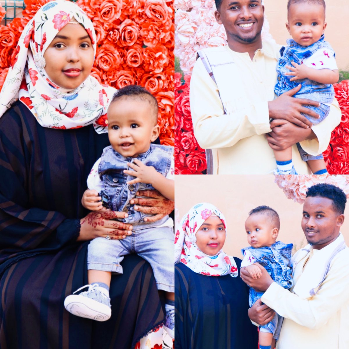 You are the reason why my life is so colorful each day. Let me make this Eid such a colorful one for you! Eid Mubarak my love!  @Somalia  #EidUlFitr  #HappyFamily pic.twitter.com/Lxok0cobjR