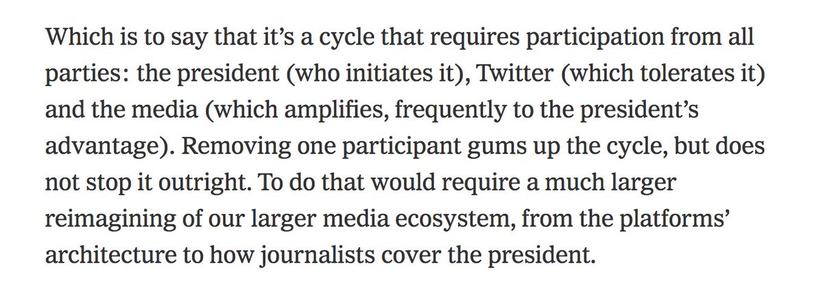 New from me: I wrote about the Trump and Twitter mess. nytimes.com/2020/05/27/opi…